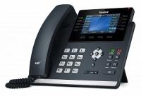 Yealink SIP-T46U, цветной экран, 2 порта USB, 16 аккаунтов,  PoE, GigE, без БП