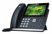 Yealink SIP-T48S, цветной сенсорный экран, 16 аккаунтов, PoE, GigE, без БП