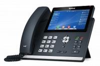 Yealink SIP-T48U, цветной сенсорный экран, 2 порта USB, 16 аккаунтов,  PoE, GigE, без БП